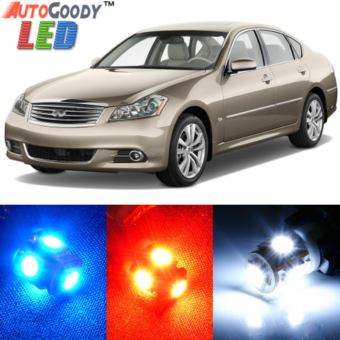Premium Interior LED Lights Package Upgrade for Infiniti M35 M37 M45 (2006-2012)