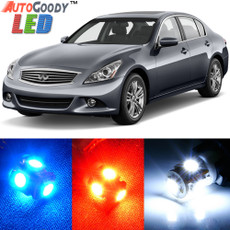 Premium Interior LED Lights Package Upgrade for Infiniti G37 (2007-2013)