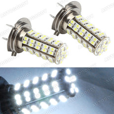 H7 LED Bulbs 68-SMD for DRL Fog Lights