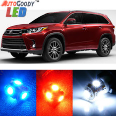 Premium Interior LED Lights Package Upgrade for Toyota Highlander (2014-2017)