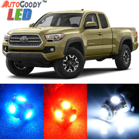 Premium Interior LED Lights Package Upgrade for Toyota Tacoma (2005-2017)