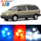 Premium Interior LED Lights Package Upgrade for Toyota Sienna (1998-2003)