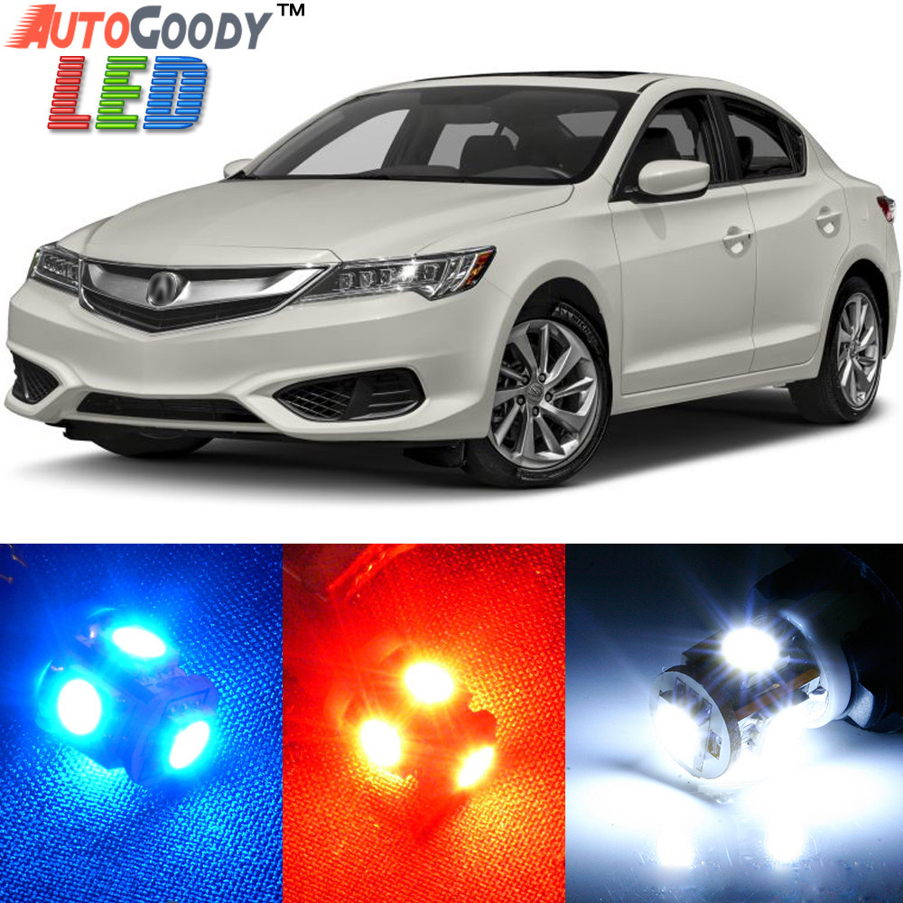Premium Interior LED Lights Package Upgrade For Acura ILX - Acura ilx upgrades