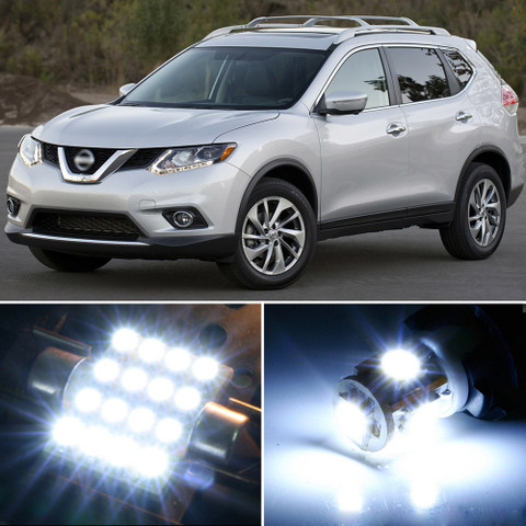 Premium Led Lights Interior Package Upgrade For Nissan Rogue 2014