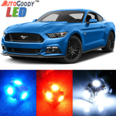 Premium Interior LED Lights Package Upgrade for Ford Mustang (2005-2017)