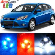 Premium Interior LED Lights Package Upgrade for Ford Focus (2012-2014)