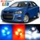 Premium Interior LED Lights Package Upgrade for Chevrolet Sonic (2012-2017)