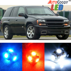 Premium Interior LED Lights Package Upgrade for Chevrolet Trailblazer (2002-2009)