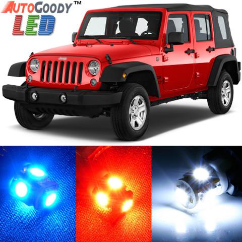 Premium Interior LED Lights Package Upgrade for Jeep Wrangler (2007-2017)