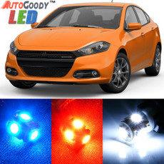 Premium Interior LED Lights Package Upgrade for Dodge Dart (2013-2016)