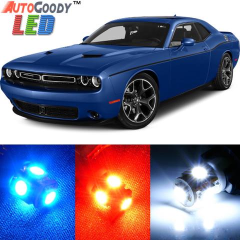 Premium Interior LED Lights Package Upgrade for Dodge Challenger (2008-2017)
