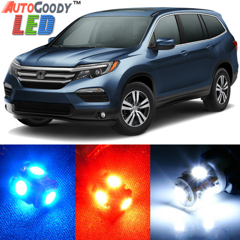 Premium Interior LED Lights Package Upgrade for Honda Pilot (2016-2017)