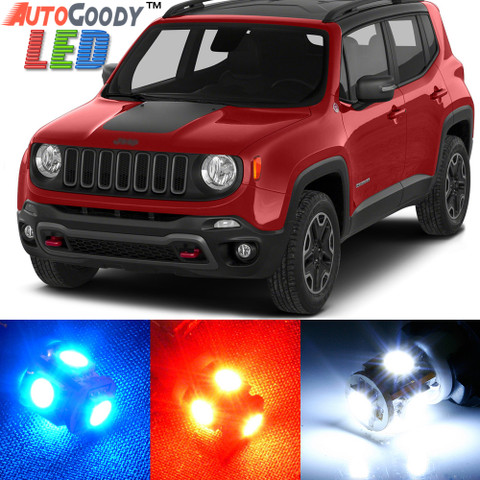 Premium Interior LED Lights Package Upgrade for Jeep Renegade (2015-2017)