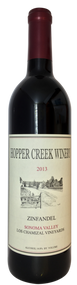 94pt Hopper Creek Zinfandel Los Chamizal Vineyard 2013