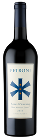 "94pt Petroni ""Rosso di Sonoma"" Estate Grown Moon Mountain 2010"