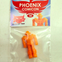 Robo Toy Fest Phoenix Comic Con Exclusive Orange RTF Robo
