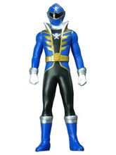 Power Rangers Super Megaforce Gokaiger Vinyl figure Blue Ranger