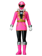 Copy of Power Rangers Super Megaforce Gokaiger Vinyl figure Pink Ranger