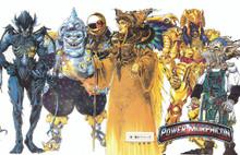Power Morphicon 2010 Convention Print Villains