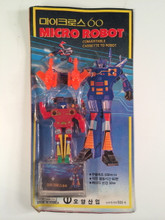 Micro Robot  Transformers Frenzy Oversized Bootleg