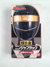 Ninja Sentai Kakuranger -  Kakuranger Ninja Black Action Figure Bandai MMPR Ninja Rangers