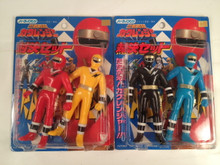Ninja Sentai Kakuranger -  Kakuranger Ninja vinyl Action Figure sets Bandai MMPR Ninja Rangers