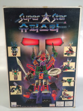 Transformers Six Shot Korean Bootleg Super Star robot set