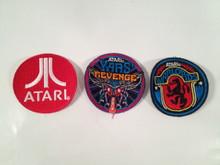 Atari E3 patch Set Atari Logo , Yars Revenge, Warlords  2.1/2 inch