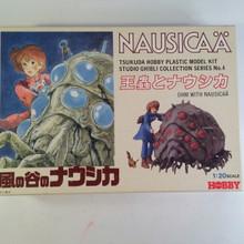 Nausicaa Valley of the Wind Nausicaa & Ohmu Model Kit Tsukuda Hobby 1/20 scale