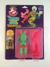 The Real Ghostbusters Super Fright Features Winston Zeddmore and Meanie Wienie Ghost
