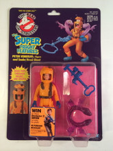 The Real Ghostbusters Super Fright Features Peter Venkman and Snake Head Ghost