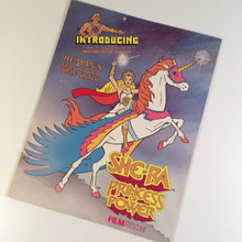She-Ra Princess of Power TV series Licensing promo booklet Filmation 1985