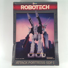 Robotech Defenders Model Kit Attack Fortress SDF1 opened box 1/5000 Scale Macross