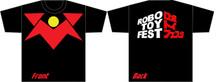 Voltes V Robo Toy Fest T-Shirt Medium