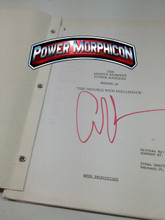 Original Mighty Morphin Power Rangers Signed Script Episode 19 Amy Jo The Trouble with Shellshock