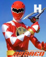 Hirofumi Fukuzawa Super Sentai ABARANGER Red autographed Photo Japan World Heroes 2017