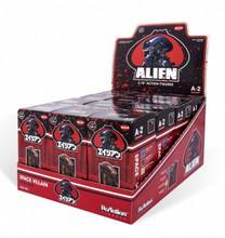 Alien Blind Box 3 3/4-Inch ReAction Figure sealed case of 12 Series 2