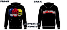 Copy of Power Morphicon 2018 Convention Power Rangers Hoodie Beast 3XL Large