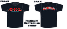 Power Morphicon 2018 Platinum Convention Shirt  Medium