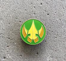 Power Morphicon 2018 Lord Drakkon Logo Pin