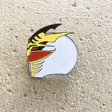 Power Morphicon 2018 Power Rangers Lord Drakkon Helmet Pin