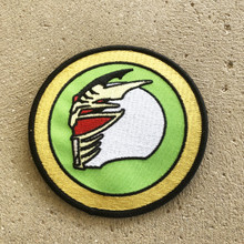 Power Morphicon 2018 Power Rangers Lord Drakkon Helmet Patch
