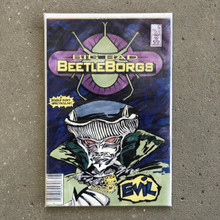 Big Bad Beetleborgs TV show Prop Comic Book Evil