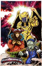 Power Morphicon 4 Villains Print