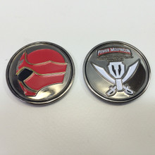 Power Morphicon 2014 Power Rangers Super Megaforce Convention Coin Black