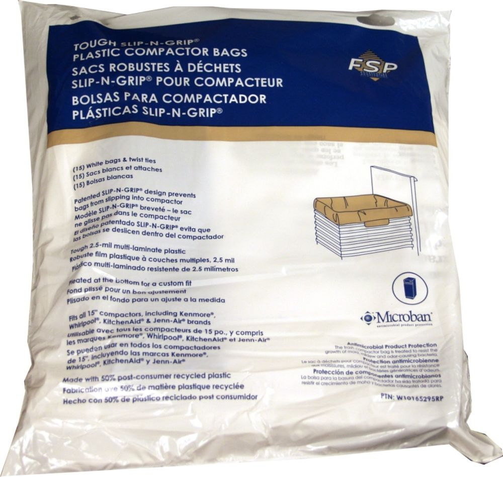 W10165295RP Whirlpool Special Compactor Bag