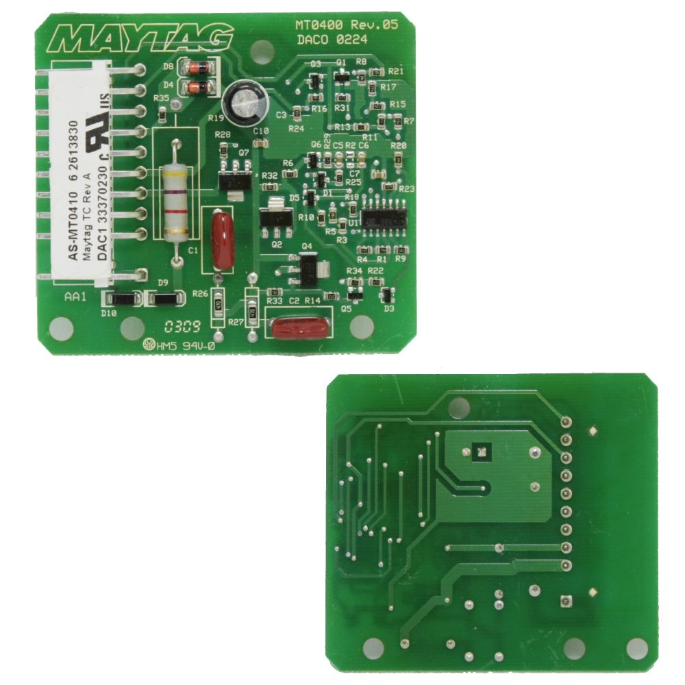 22003906 Whirlpool Water Temperature Board
