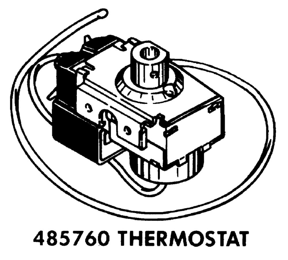485760 Whirlpool Thermostat