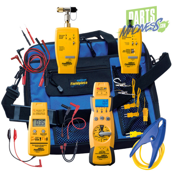 HS36K19G Fieldpiece Hvac Hs36 Midsize Gas Fieldpack Kit