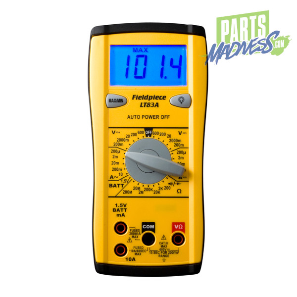 LT83A Fieldpiece Hvac Digital Multi Meter Multimeter